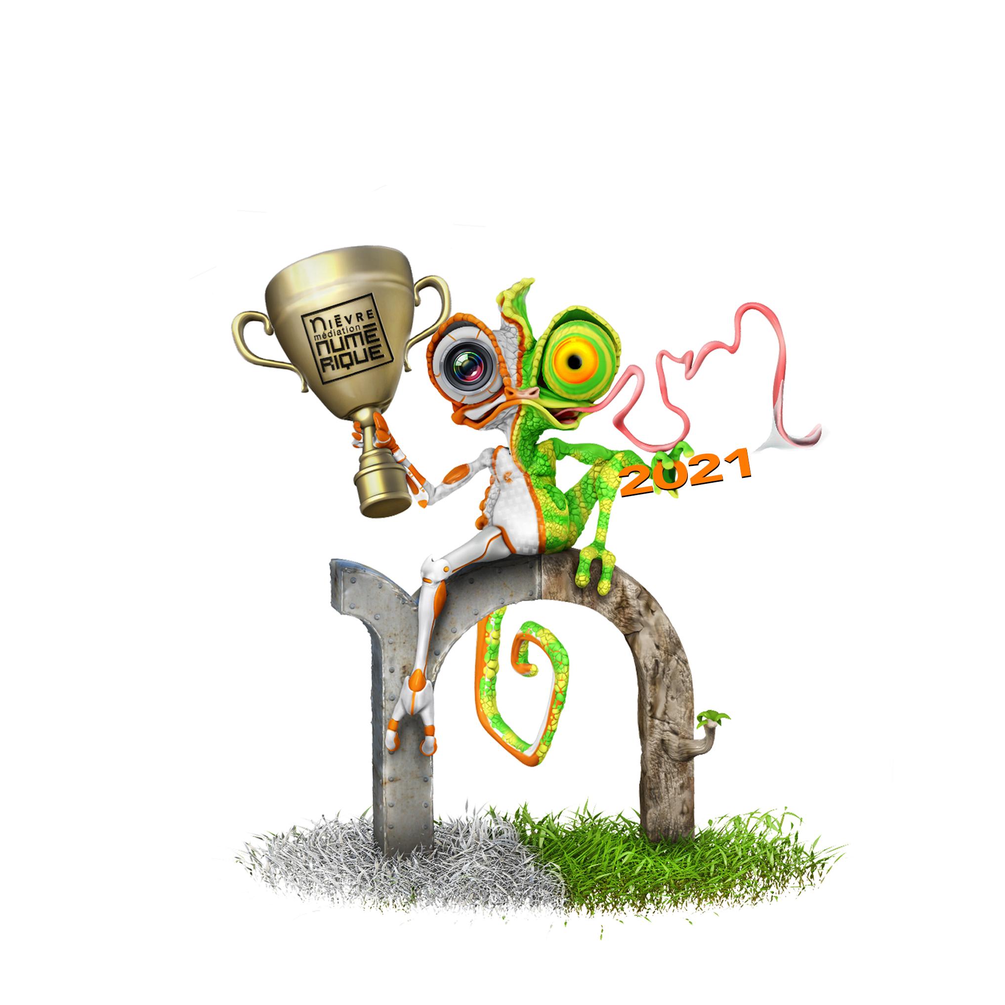 Logo les trophées du Numérique